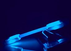 Led světla na kolo SuperFlare - Modrá