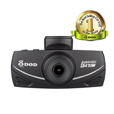 DOD LS470W - nejlepší kamera do auta s GPS