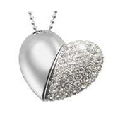 USB Šperk - Srdce 16GB