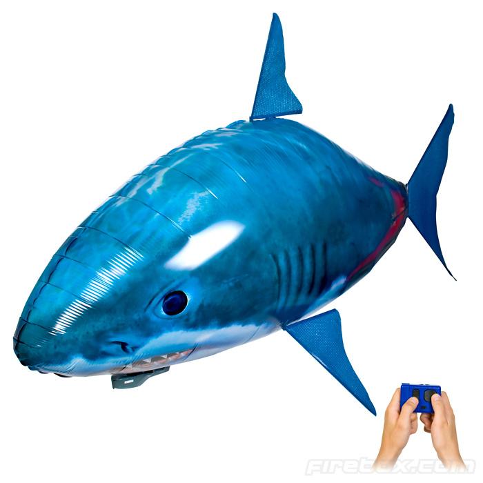 Létající žralok či Nemo na dálkové ovládání