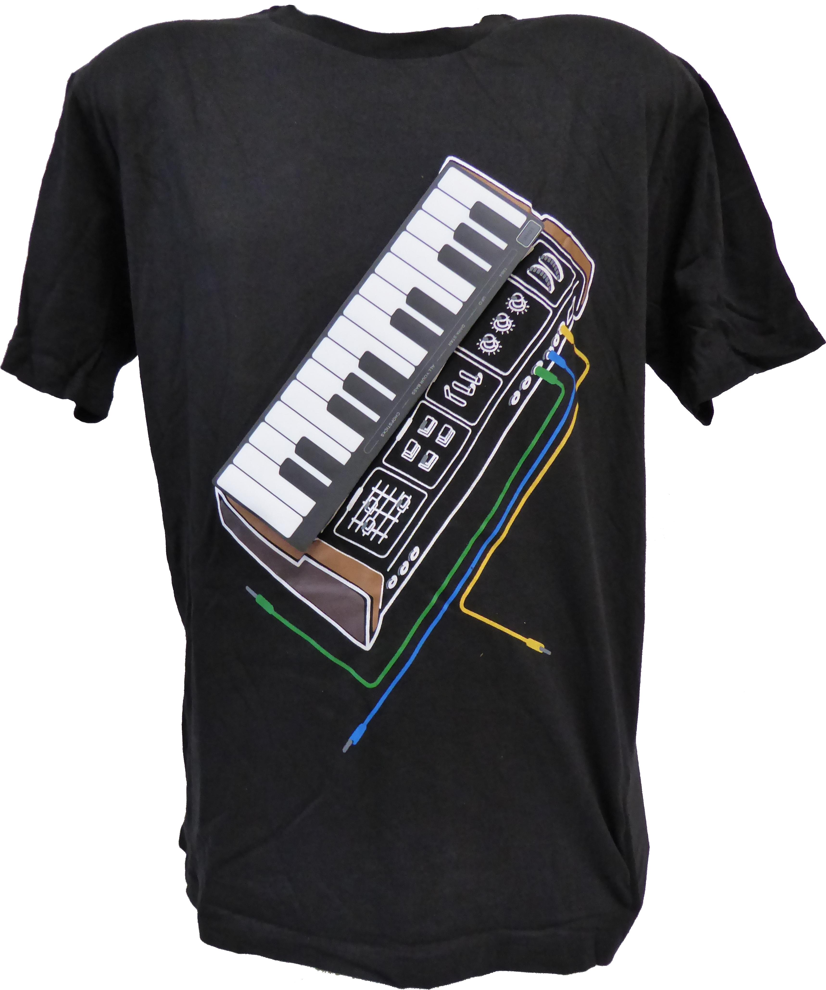 Elektronické hrající Piano tričko