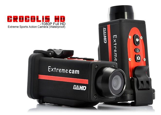 Sportovní kamera FULL HD 1080P Crocolis Extreme