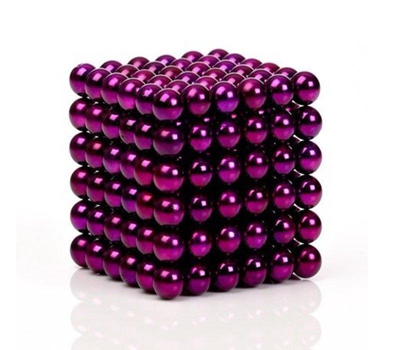 Magnetické kuličky - 5 mm fialové